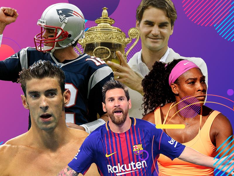 Los grandes atletas de la década